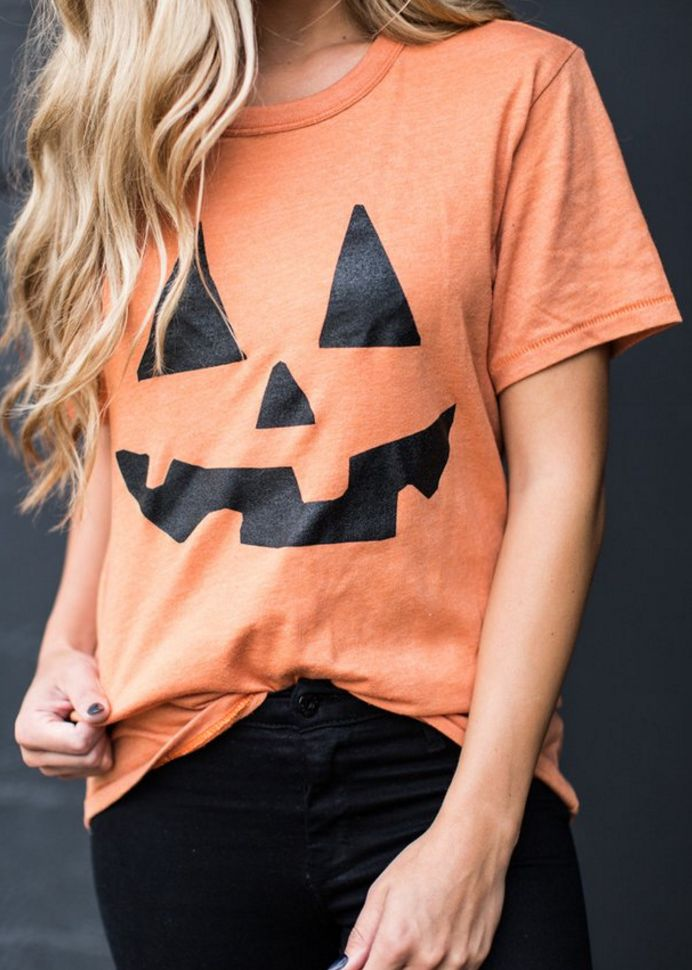 cute pumpkin tee