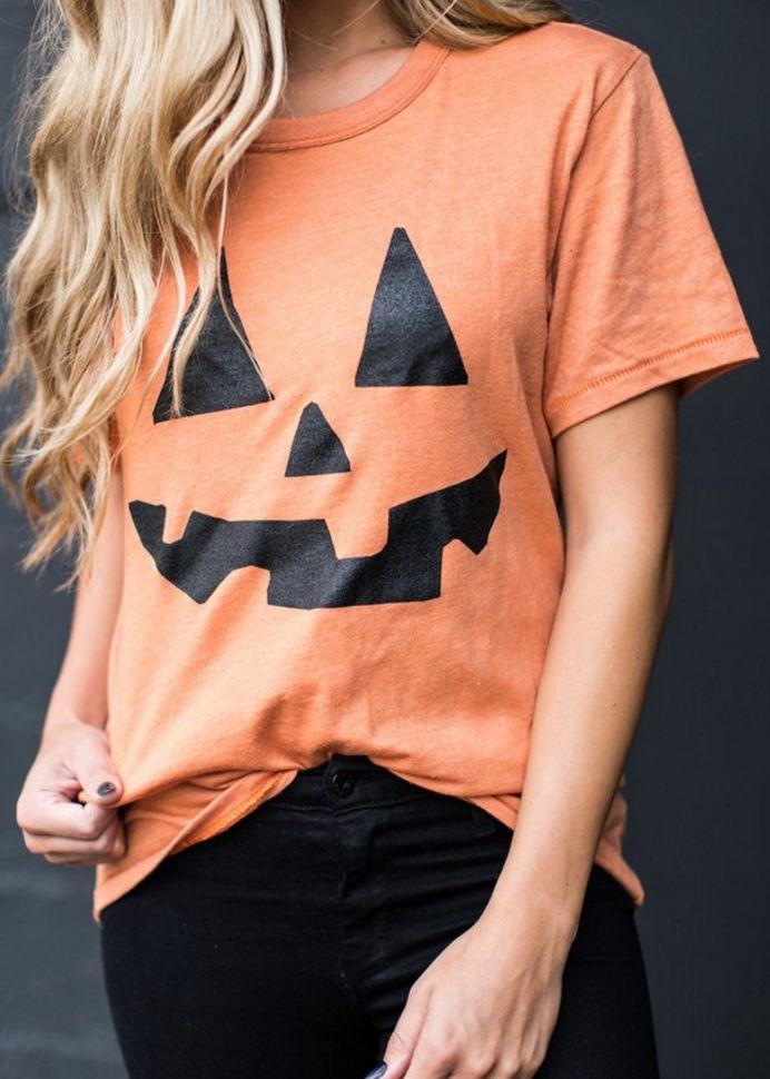 cute pumpkin tee