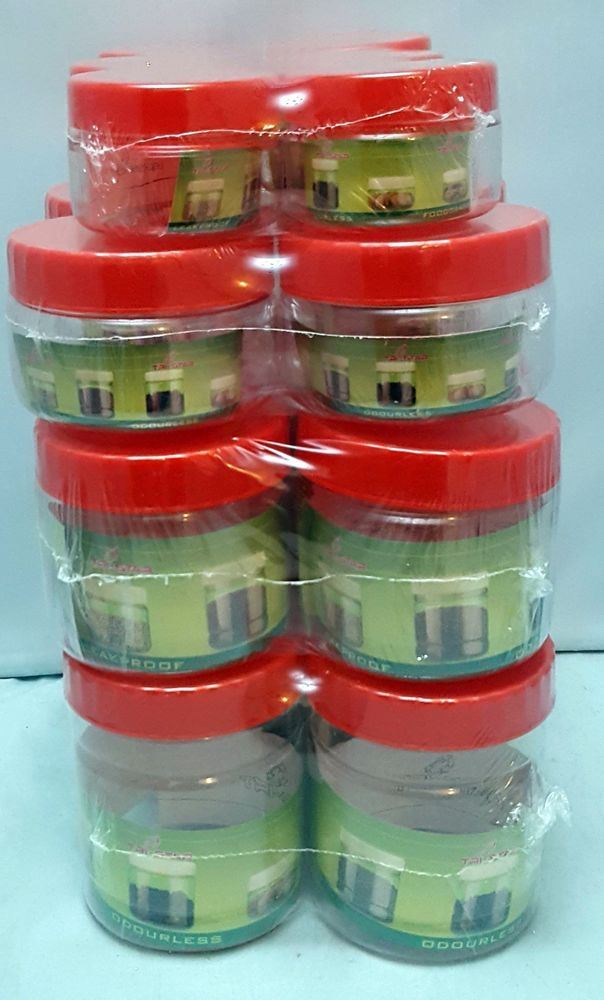 Small Container Plastic Storage Tubs Pots Jars Food Safe ODOURLESS LEAKPROOF