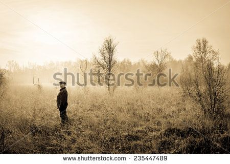 Man In The Nature Stock Photo 235447489 : Shutterstock