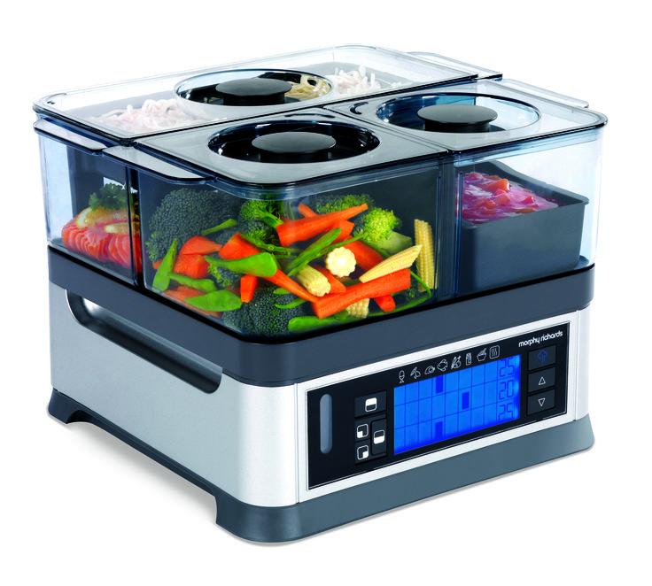 Intellisteam  http://www.morphyrichards.co.za/products/800w-steel-soup-maker-48823