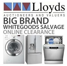 BIG BRAND WHITE GOODS SALVAGE CLEARANCE!!