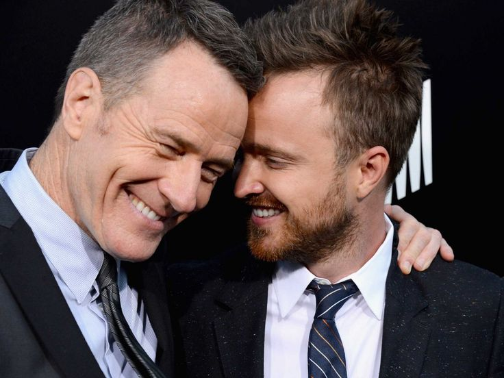 Breaking Bad's Bryan Cranston (Walter White) & Aaron Paul (Jesse Pinkman)....Awesome Ending! <3