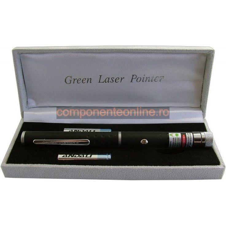 Laser pointer, verde, multipunct - 113425