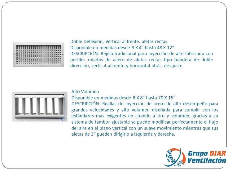 41 best images about rejillas difusores y filtros on for Rejillas aire acondicionado regulables
