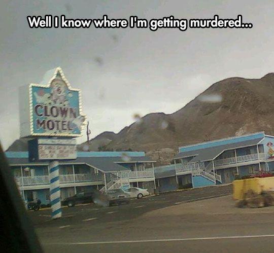 Why Would Anyone Name A Motel Like That