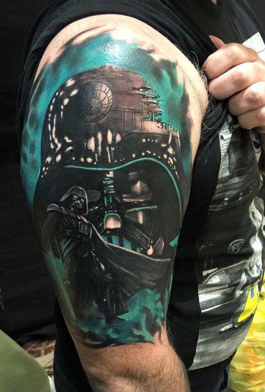 Darth Vader Star Wars Tattoos, Best Star Wars Tattoos, Darth Vader Star Wars…