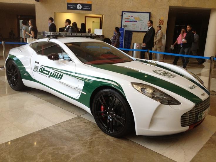 Dubai Police Aston Martin One77 Police cars, Super cars