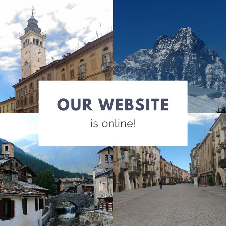 Our Website is online!