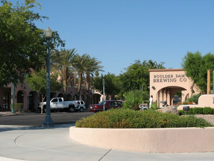 Boulder City, NV downtown district. Great shops and eats. www.findinghomesinlasvegas.com. Keller Williams, Las Vegas.