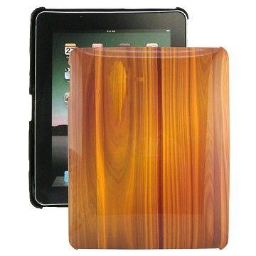 Wood Sarja (Ruskea) iPad Suojakotelo