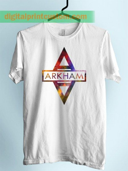 Batman Arkham City Symbol Unisex Adult Tshirt
