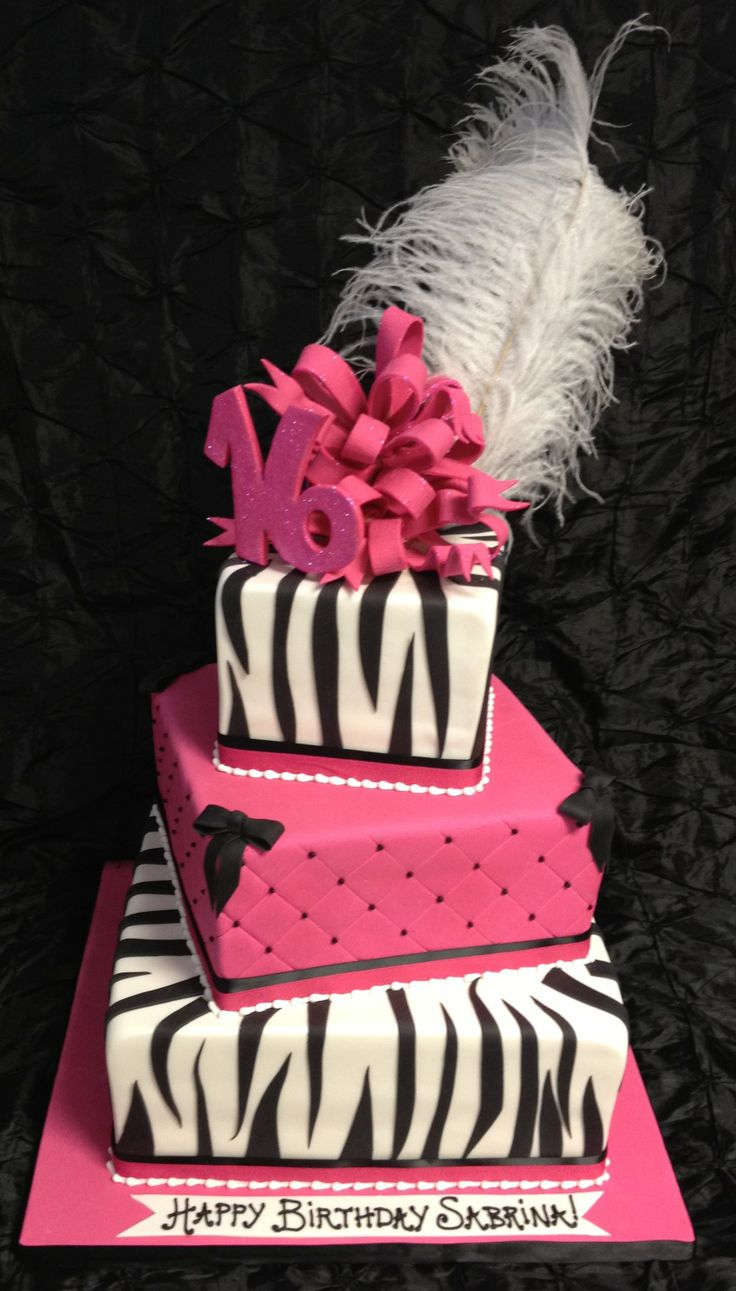 52 Best Images About Cake Ideas Sweet 16 On Pinterest