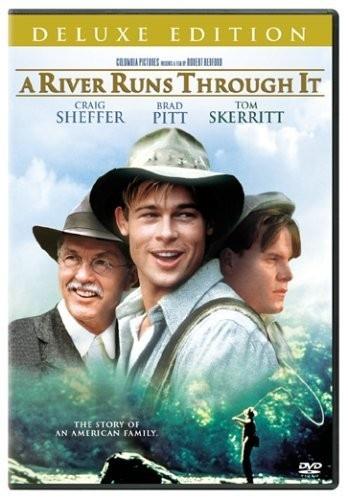 """Brad Pitt in """"A River Runs Through It"""""""
