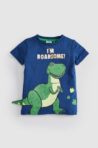 d915f884d A Roarsome addition to your little one's adorable summer collection, this  Toy Story T-