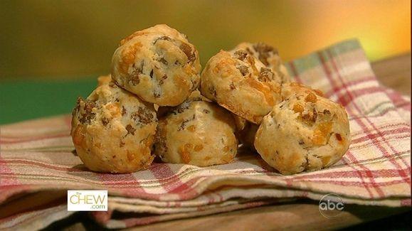 Valerie Bertinelli's Seriously Good Sausage Bites Recipe by Valerie Bertinelli - The Chew
