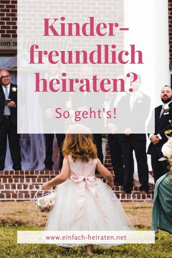 Kinder In Die Hochzeit Einbeziehen Kein Problem Heiraten Hochzeit Hochzeit Aktivitaten