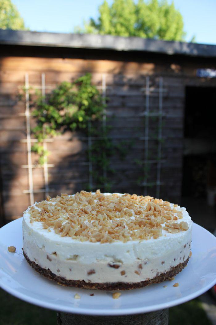 Erdnussbutterkuchen