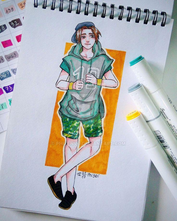 Leo de la Iglesia - Fashion Street Style by Phiyenvu on DeviantArt