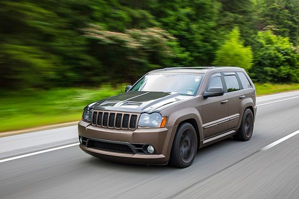 Dave Weber S 2008 Jeep Grand Cherokee Is The Sleeper Surprise Of A