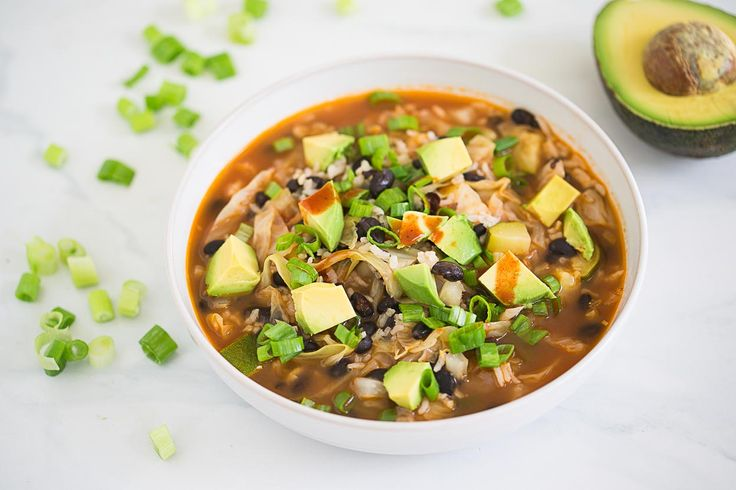 Black bean and rice soup by Cook Smarts