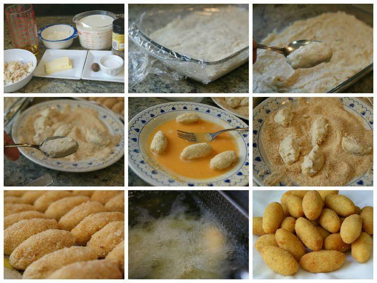 Anna recetas fáciles: Cómo preparar fácilmente croquetas de pescado. Receta básica para croquetas