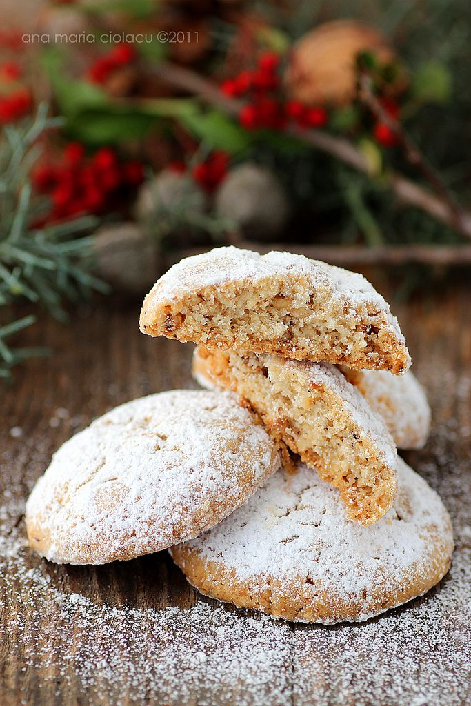 Walnut Snowball Cookies Recipe — Dishmaps