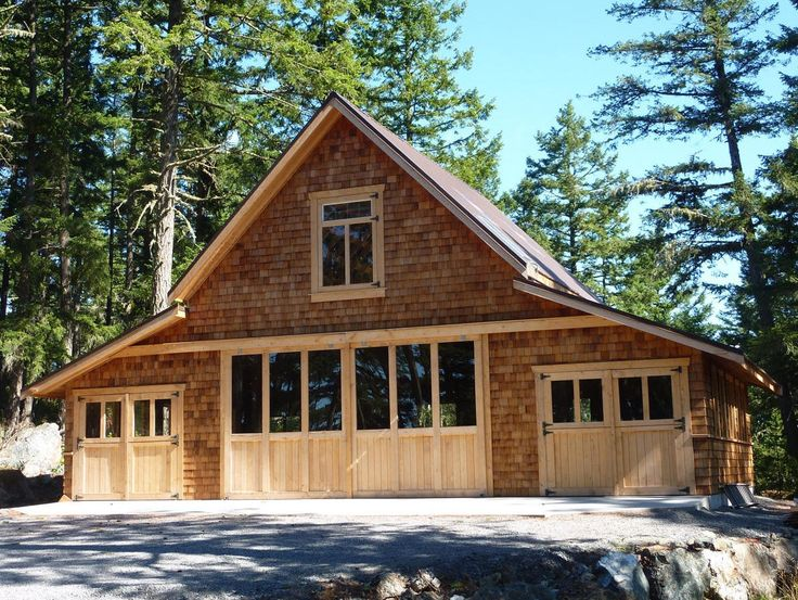 A homeowner in Victoria, Canada made this beautiful Craftsman-style garage with a little help from the Walnut Coach House plans. The original 4-car garage and loft design is available in plans from BackroadHome.net for $59.00