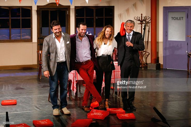 Photo d'actualité : Actors Philippe Lellouche , Christian Vadim,...