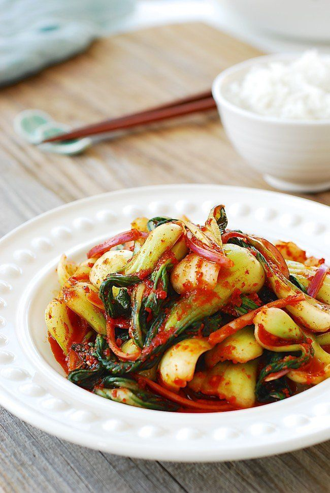856 best food korean images on pinterest korean recipes cooking baby bok choy kimchi salad amazing korean home cooking website forumfinder Image collections