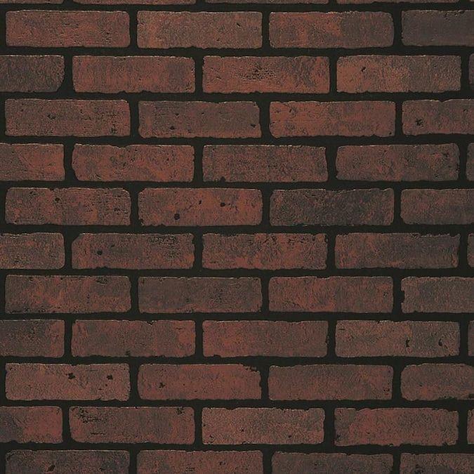 Craftsman Red Brick Wall Panel Lowes Com Brick Wall Paneling Faux Brick Panels Faux Brick Walls