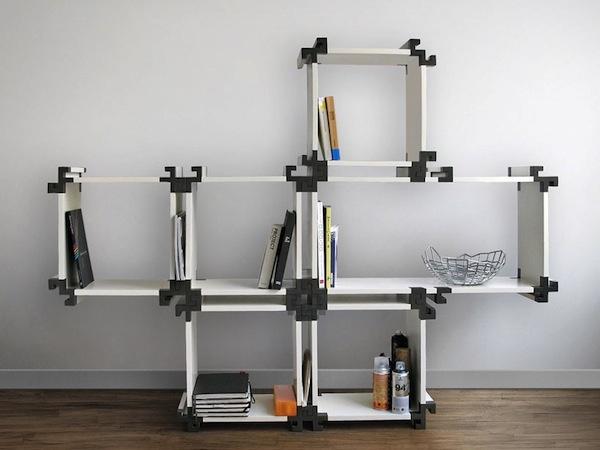 A Customizable Modular Bookshelf #customization