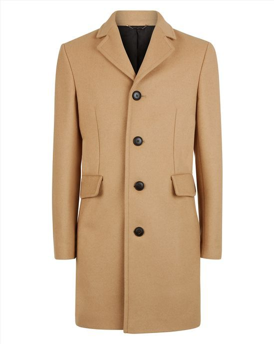 Wool Camel Overcoat - Camel - Main Product Image