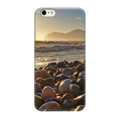 Чехол для iPhone 6 (от 957 рублей). Камни на фоне морских волн. Крым, Коктебель, Кара-Даг. Автор фото - Ярмонтович Юрий