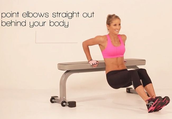 6 amazing exercises for toned arms! This is your go-to workout, ladies :)