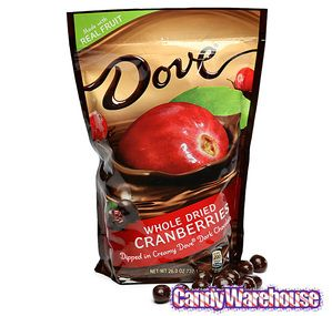 Dove Dark Chocolate Covered Whole Cranberries: 26-Ounce Bag