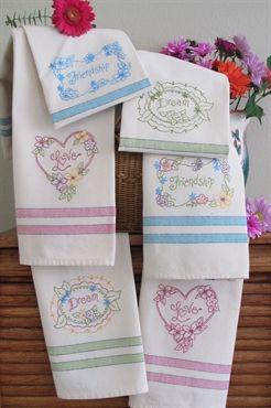 Picture of Love, Dream, Friendship Tea Towels