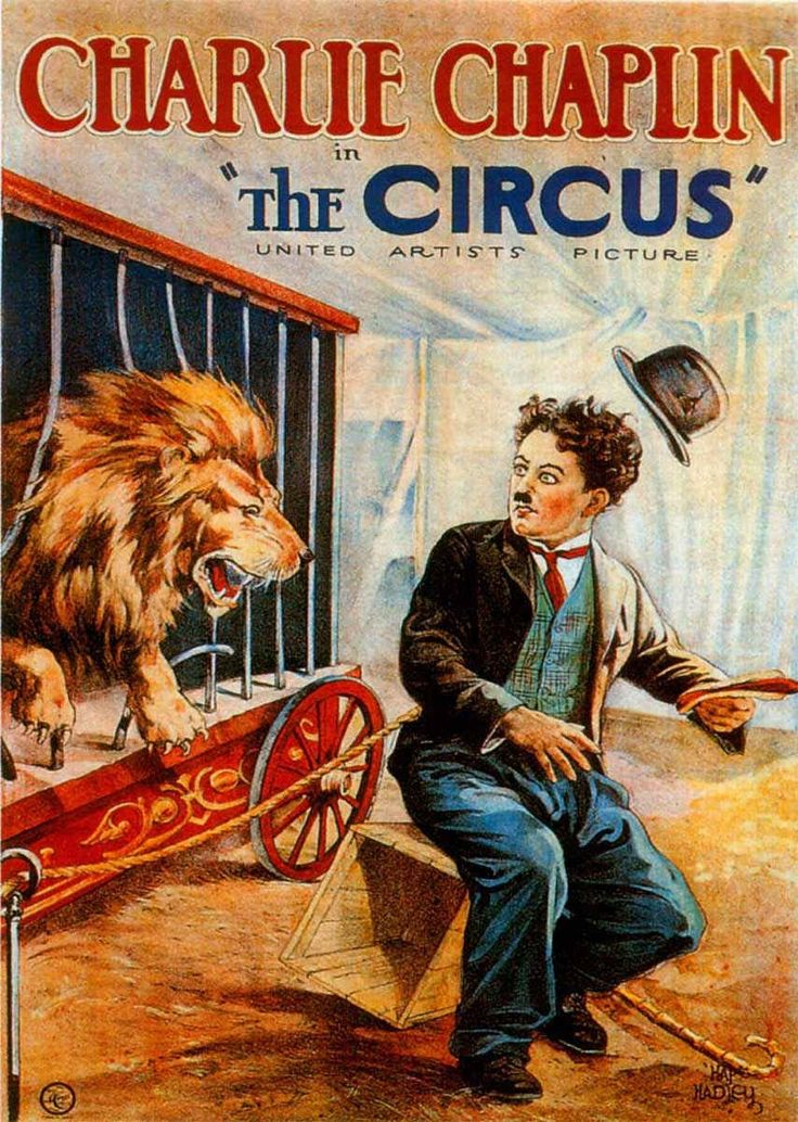 The Circus is a 1928 silent film written and directed by Charlie Chaplin with Joseph Plunkett as an uncredited writer. The film stars Chaplin, Al Ernest Garcia, Merna Kennedy, Harry Crocker, George Davis and Henry Bergman. The ringmaster of an impoverished circus hires Chaplin's Little Tramp as a clown, but discovers that he can only be funny unintentionally, not on purpose.