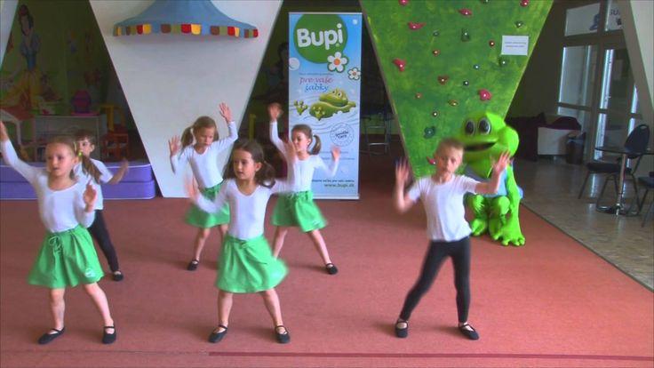 Rozcvička so žabkou BUPI