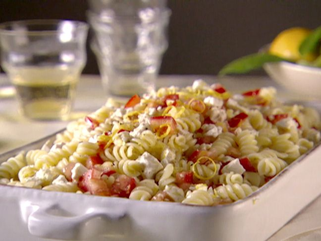 Rotini with Salsa di Limone from CookingChannelTV.com