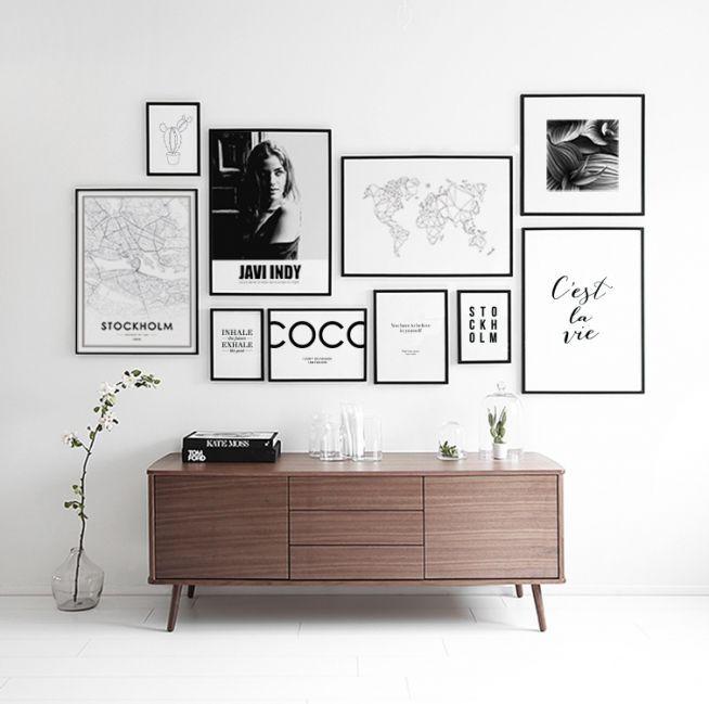 Hellebore, poster in der Gruppe Poster / Größen und Formate / 50x50cm bei Dese