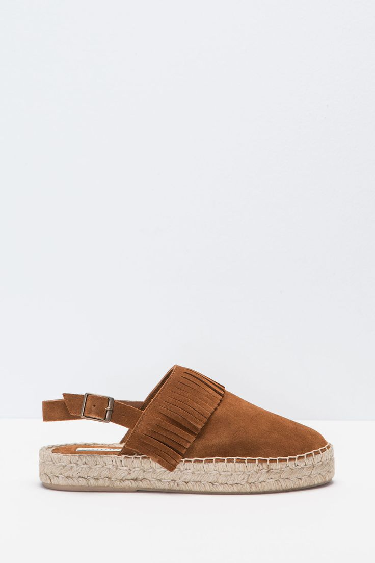 Alpargata flecos - Zapatos cortefiel