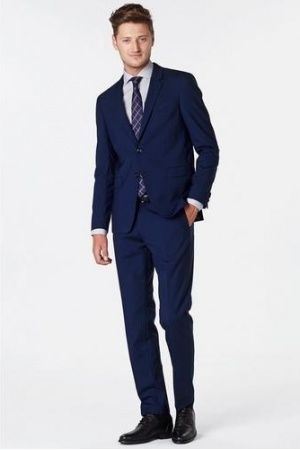 Heren kostuums - Tommy Hilfiger Tailored Wollen slim fit pak Rafael Nadal
