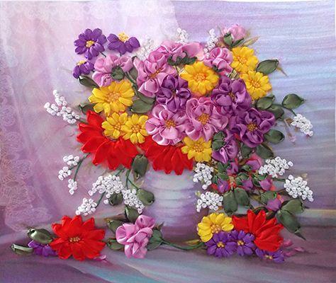 Осенние цветы НЛ-3021