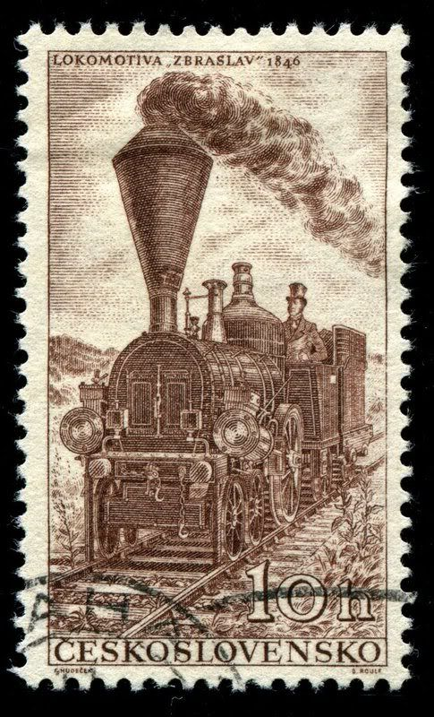 Czechoslovakia - Issued: 11/9/1956. European Freight Services Timetable Conference - Railway Engines - Zbraslav, 1846.