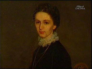 Szinyei Merse Pál: Ninon arcképe (festmény) (részlet)