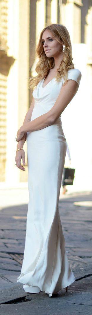 White Prom Dress,Sheath Prom Dress,Fashion Prom Dress,Sexy Party