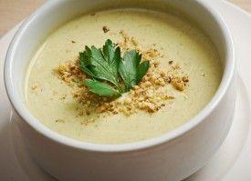 supa crema de dovlecei cu curry