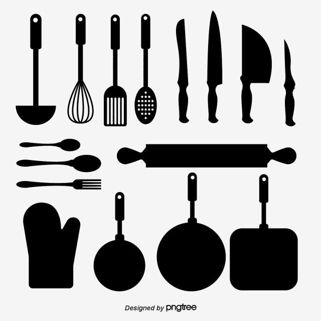 الأدوات المنزلية وأدوات المطبخ فلتر شوكة أدوات المطبخ Png وملف Psd للتحميل مجانا Household Items Kitchen Utensils Kitchen