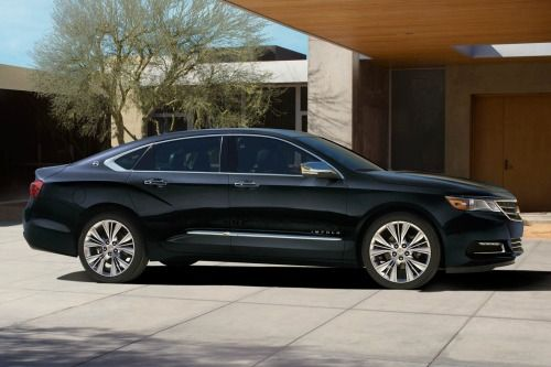 2016 Chevrolet Impala LTZ w/2LZ Sedan Exterior. Options Shown.